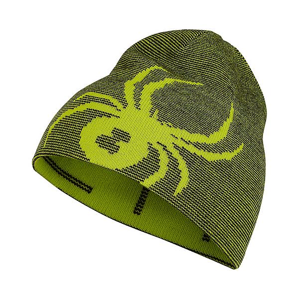 Spyder Reversible Bug Toddler Kids Hat 2022, Sharp Lime, 600