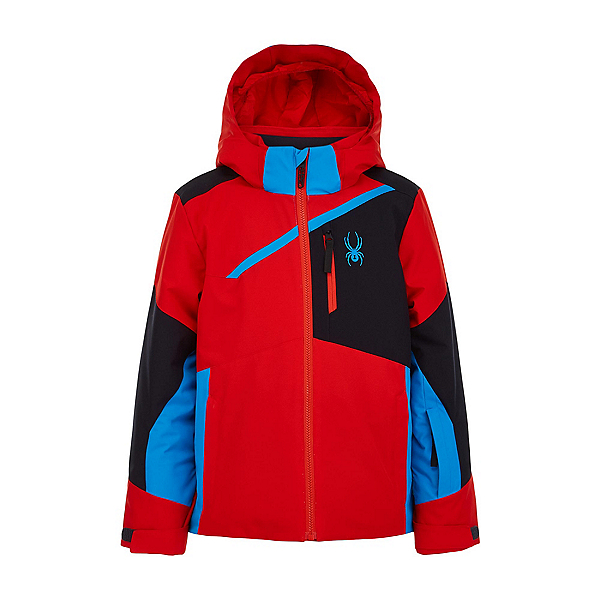 Spyder Challenger Boys Ski Jacket 2022, Volcano, 600
