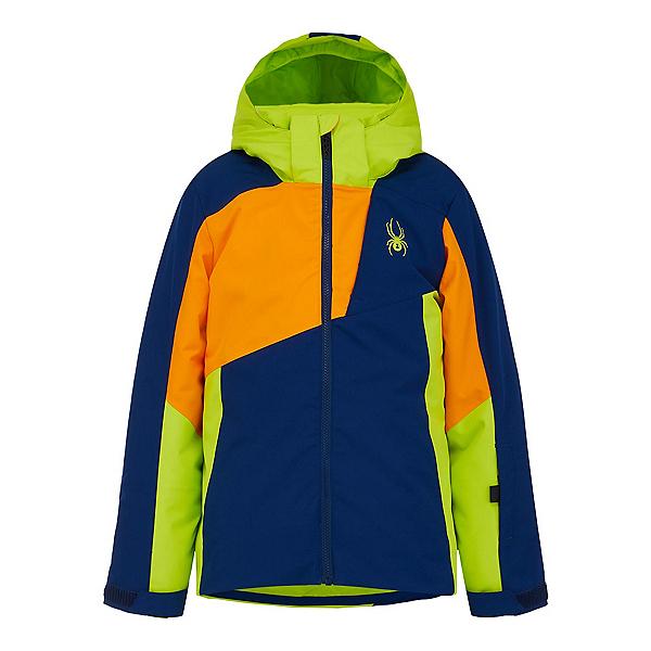 Spyder Ambush Boys Ski Jacket 2022, Abyss, 600
