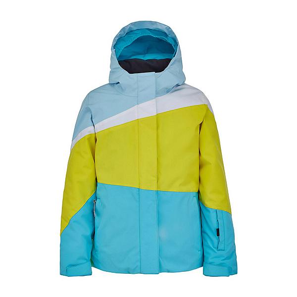 Spyder Zoey Girls Ski Jacket 2022, Bahama Blue, 600