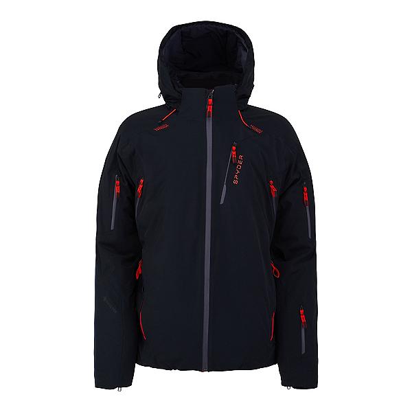 Spyder Pinnacle GTX Mens Insulated Ski Jacket 2022, Black, 600