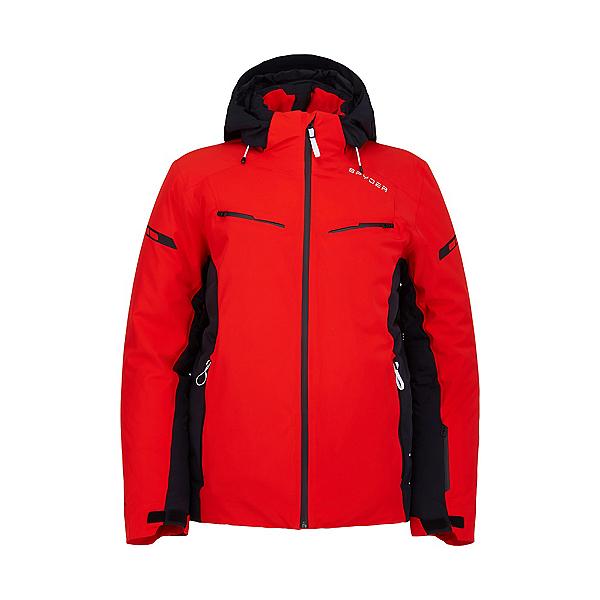 Spyder Monterosa GTX Mens Insulated Ski Jacket 2022, Volcano, 600