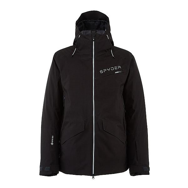Spyder Innsbruck GTX Mens Insulated Ski Jacket 2022, Black Ripstop, 600