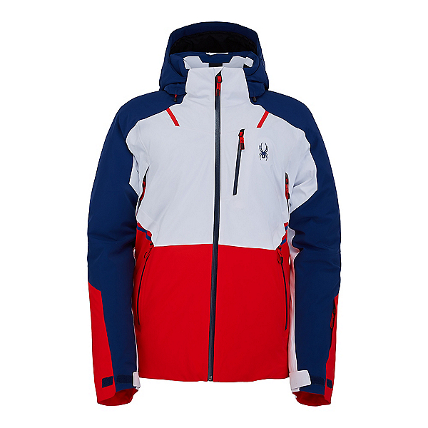 Spyder Vanqysh GTX Mens Insulated Ski Jacket 2022, White, 600