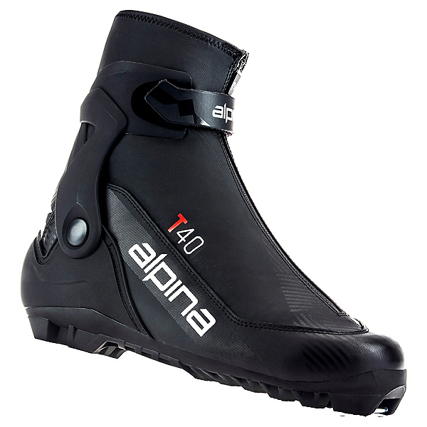 Alpina T 40 NNN Cross Country Ski Boots 2022, Black-Red, 600