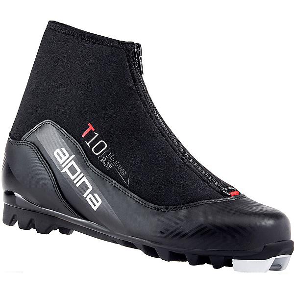 Alpina T 10 NNN Cross Country Ski Boots 2022, Black-Red, 600