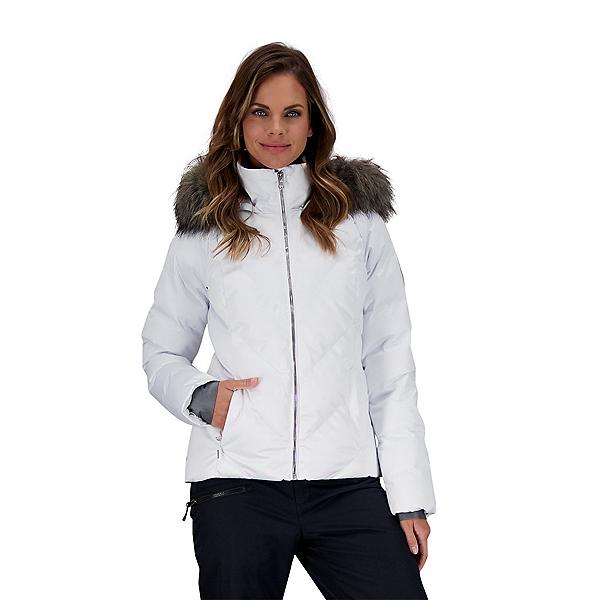 Obermeyer Bombshell Womens Insulated Ski Jacket 2022, White, 600