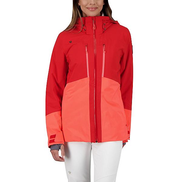 Obermeyer Cecilia Womens Insulated Ski Jacket 2022, Read My Lips, 600