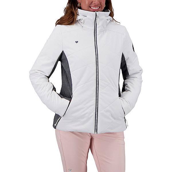 Obermeyer Lorena Womens Insulated Ski Jacket 2022, White, 600