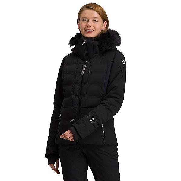 Rossignol Depart Womens Insulated Ski Jacket 2022, Black, 600
