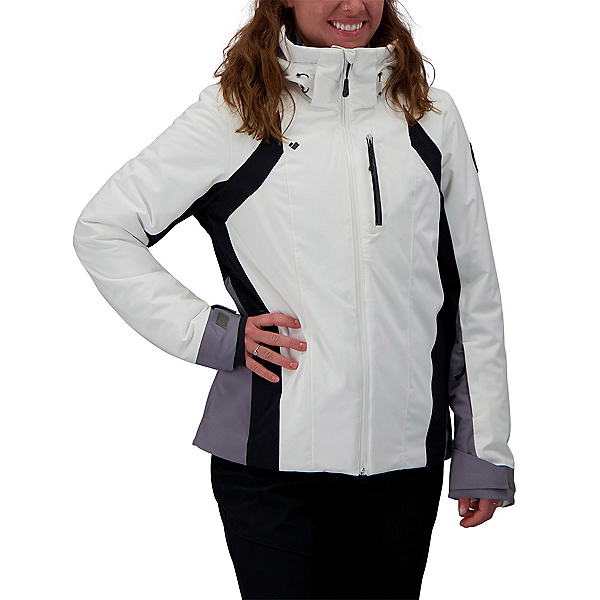 Obermeyer Jette Womens Insulated Ski Jacket 2022, White, 600
