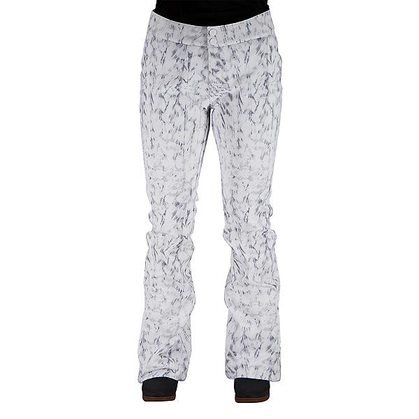 Obermeyer Printed Bond Womens Ski Pants 2022, Squall Out, 600