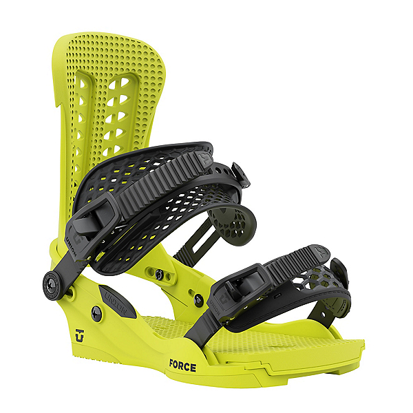 Union Force Snowboard Bindings 2022, Florescent Yellow, 600