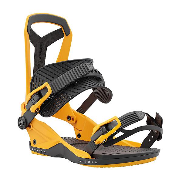Union Falcor Snowboard Bindings 2022, Yellow, 600