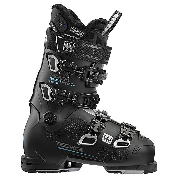 Tecnica Mach Sport 85 MV Heat Womens Ski Boots 2022, Black, 600