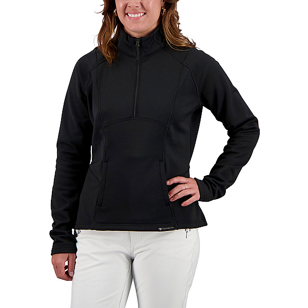 Obermeyer Sonja 1/4 Zip Womens Jacket 2022, Black, 600