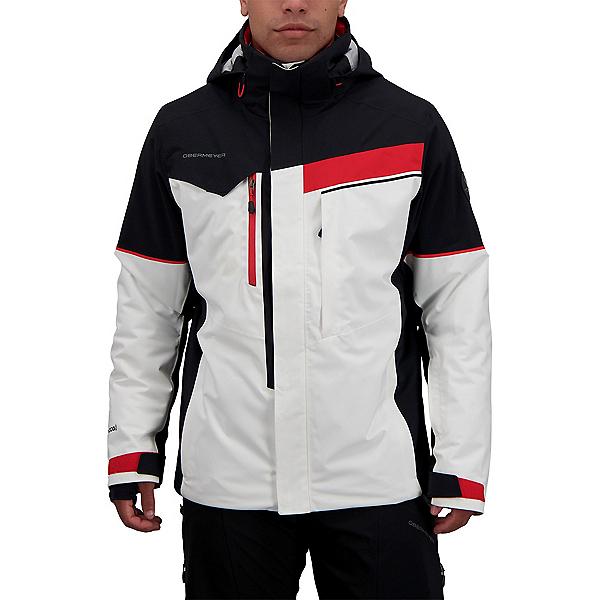 Obermeyer Kenai - Tall Mens Insulated Ski Jacket 2022, White, 600