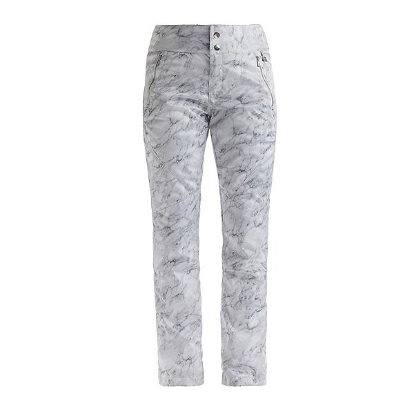 NILS Emma Printed Womens Ski Pants 2022, Marble Print, 600