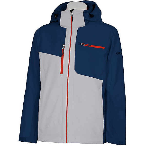 Karbon Cyclone Mens Insulated Ski Jacket 2022, Stardust North Sea Toro, 600