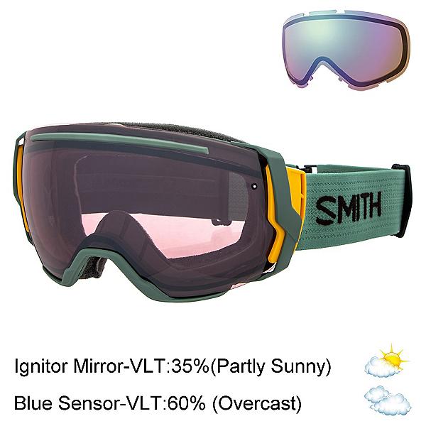 Smith I/O 7 Goggles 2018, Ranger-Ignitor Mirror + Bonus Lens, 600