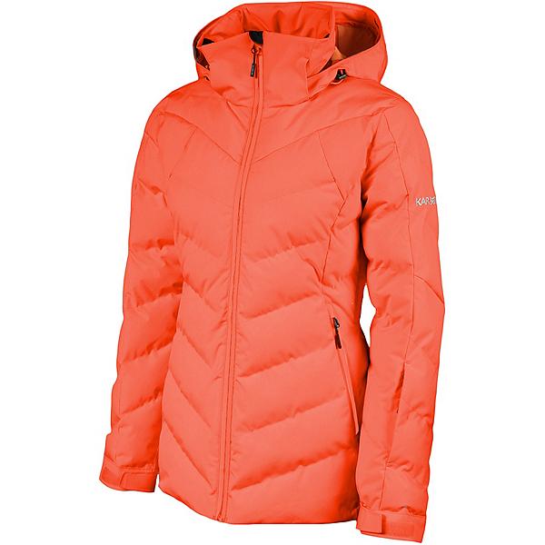 Karbon Deviate Womens Insulated Ski Jacket 2022, Coral, 600