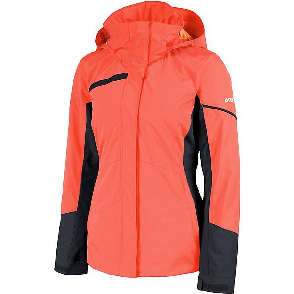 Karbon Mirage Womens Insulated Ski Jacket 2022, Coral Dusk, 600