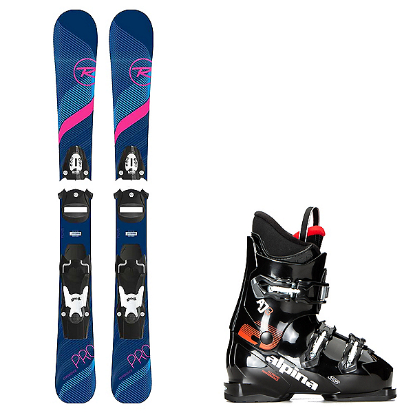 Rossignol Experience W E S Girls Ski Package, , 600