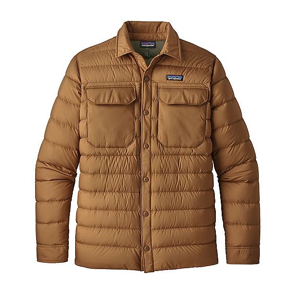 Patagonia Silent Down Shirt Mens Jacket 2022, Nest Brown, 600