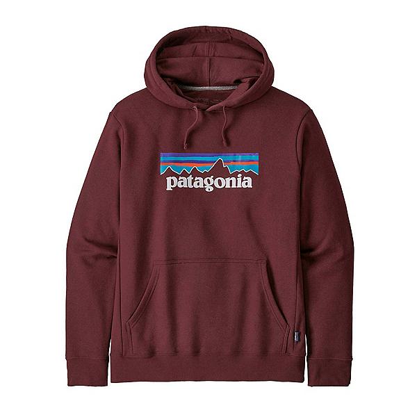 Patagonia P6 Logo Uprisal Mens Hoodie 2022, Dark Ruby, 600