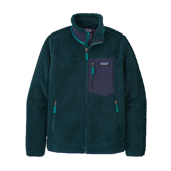 Patagonia Classic Retro-X Womens Jacket 2022, Dark Borealis Green, 600