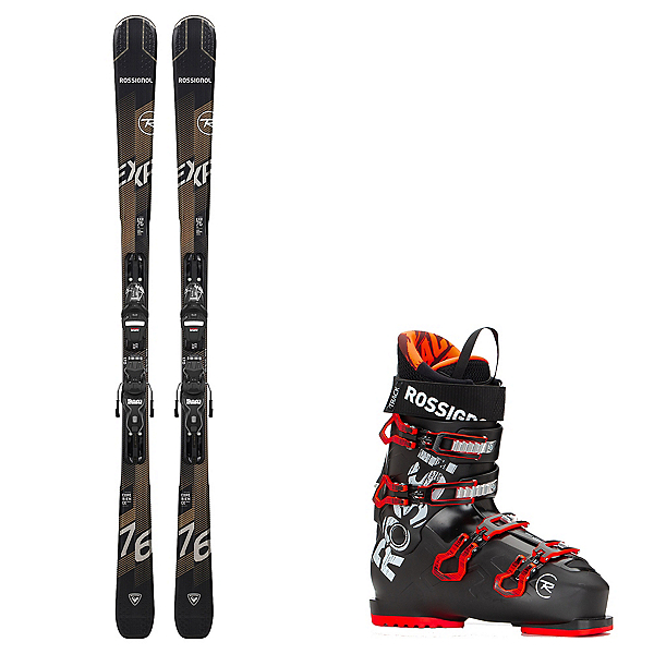 Rossignol Experience 76 CI Ski Package, , 600