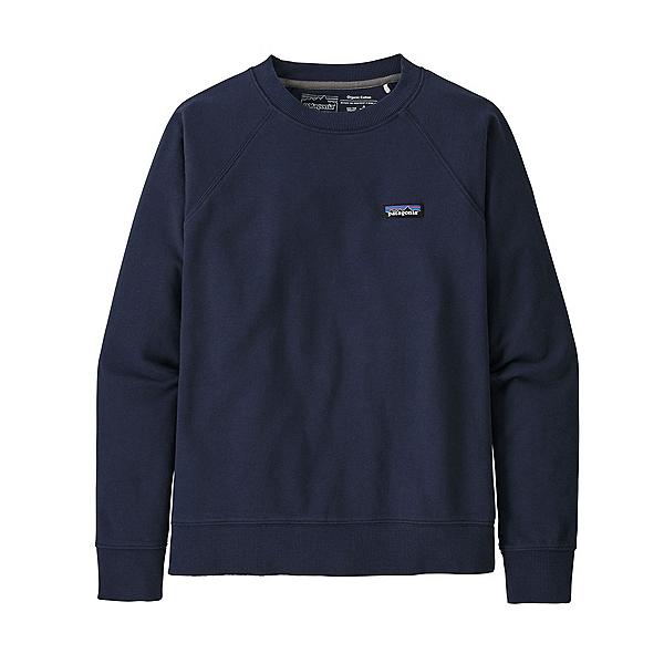 Patagonia P6 Label Organic Crew Womens Sweatshirt 2022, New Navy, 600