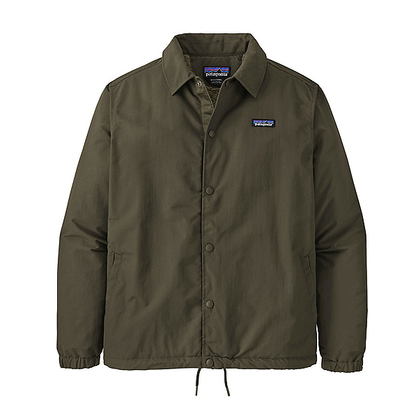 Patagonia Lined Isthmus Coaches Jacket 2022, Basin Green, 600