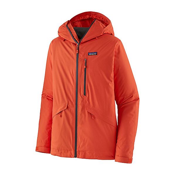 Patagonia Snowshot Mens Insulated Ski Jacket 2022, Metric Orange, 600
