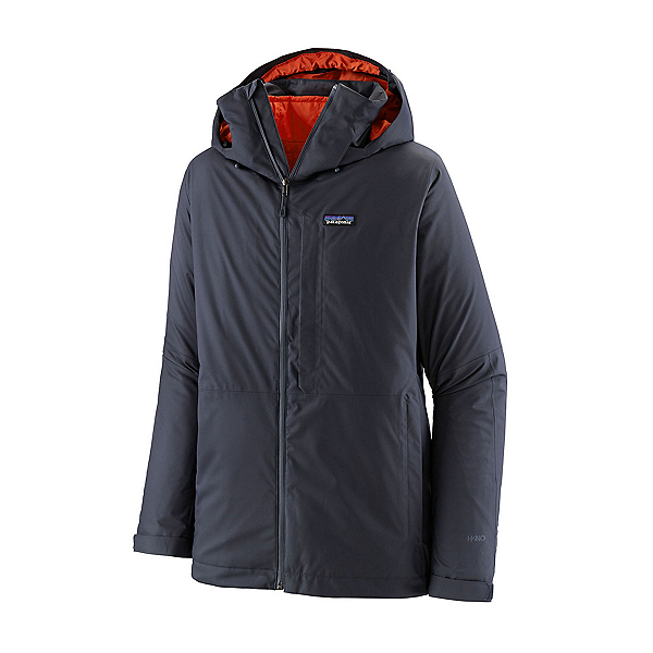 Patagonia 3 in 1 Snowshot Mens Insulated Ski Jacket 2022, Smolder Blue, 600