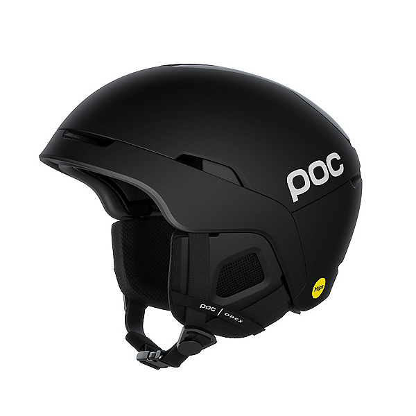 POC Obex MIPS Communication Audio Helmets 2022, Uranium Black Matt, 600