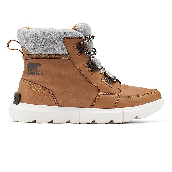 Sorel EXPLORER II CARNIVAL FELT Womens Boots 2022, Velvet Tan, Blackened Brown, 600