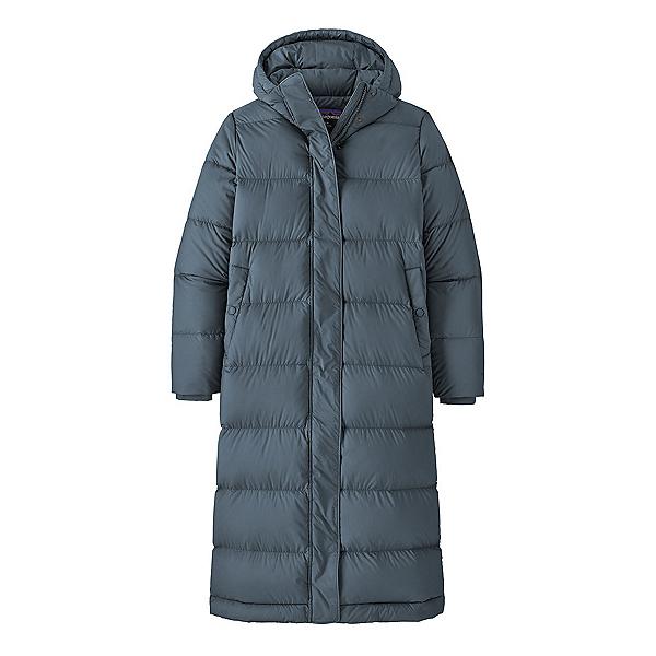 Patagonia Silent Down Long Parka Womens Jacket 2022, Plume Gray, 600