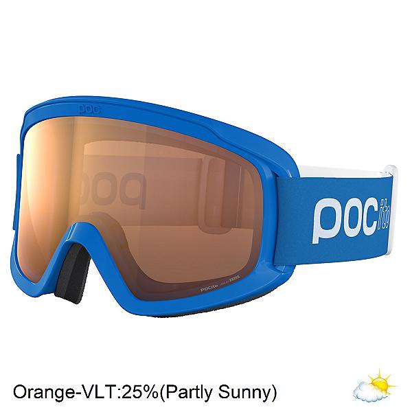 POC Pocito Opsin Kids Goggles 2022, Fluorencent Blue-Orange, 600