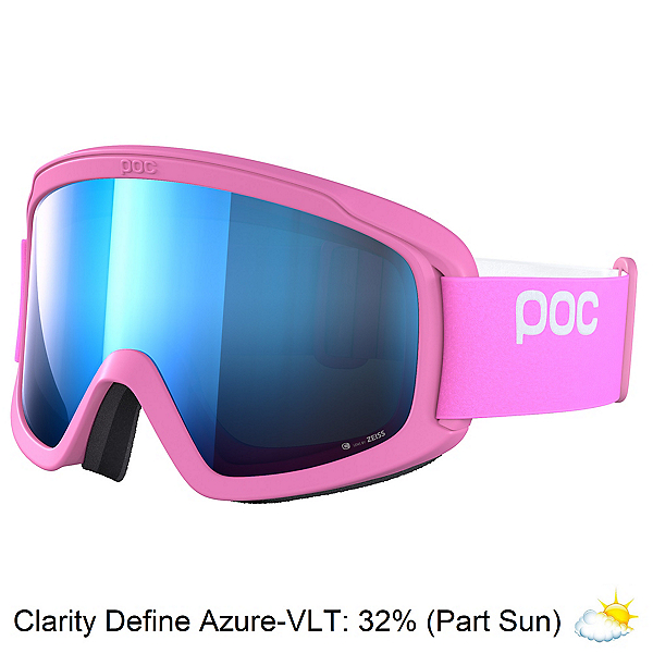 POC Opsin Clarity Womens Goggles 2022, Actinium Pink-Clairity Define Azure, 600