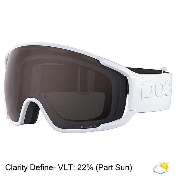 POC Zonula Clarity Goggles 2022, Hydrogen White-Clarity Define, 600