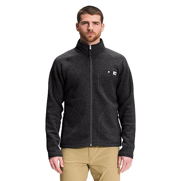 The North Face Gordon Lyons Full Zip Mens Sweater 2022, TNF Black Heather, 600