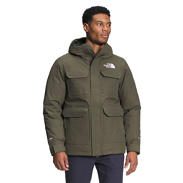 The North Face Cypress Parka Mens Jacket 2022, New Taupe Green, 600