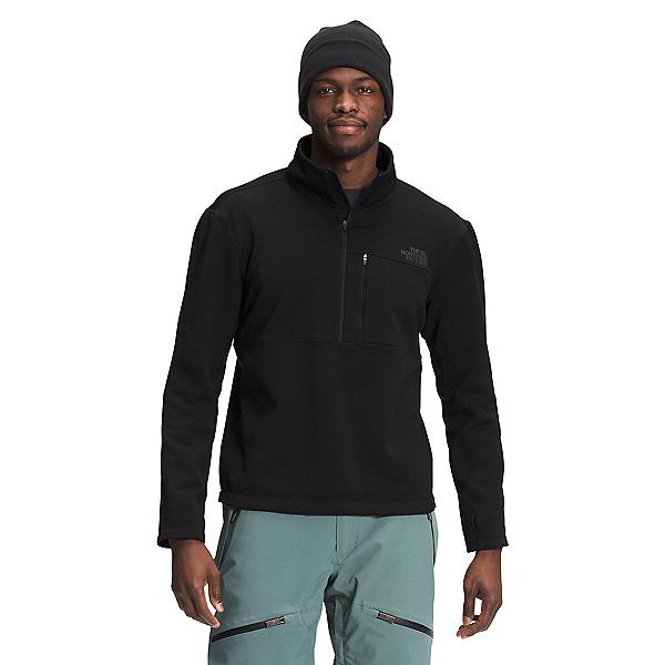 The North Face Tagen 1/4 Zip Fleece Mens Mid Layer 2022, TNF Black, 600