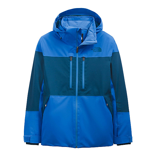 The North Face Chakal Mens Insulated Ski Jacket 2022, Hero Blue-Monterey Blue, 600
