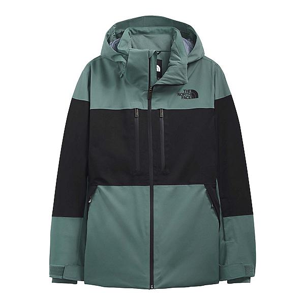 The North Face Chakal Mens Insulated Ski Jacket 2022, TNF Black-Balsam Green, 600