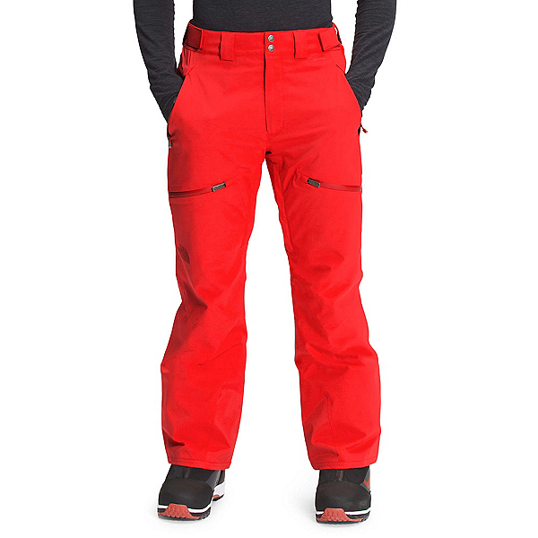 The North Face Chakal Mens Ski Pants 2022, Fiery Red, 600