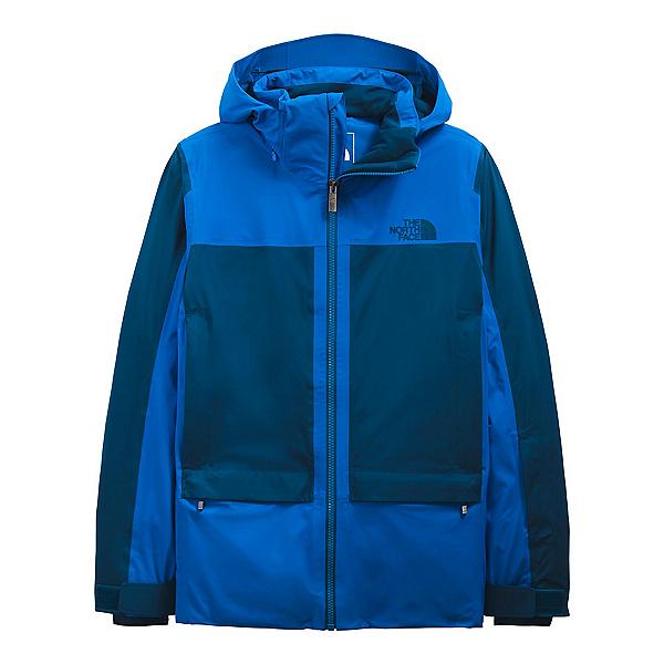 The North Face Apex Flex Snow Futurelight Mens Insulated Ski Jacket 2022, Hero Blue-Monterey Blue, 600