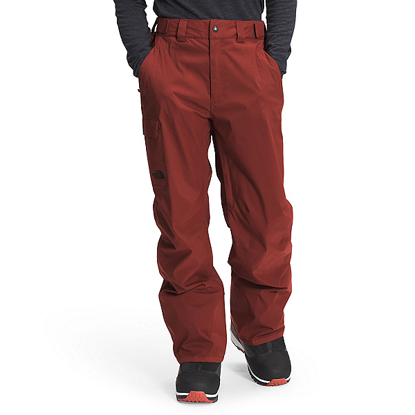 The North Face Freedom Short Mens Ski Pants 2022, Brick House Red, 600