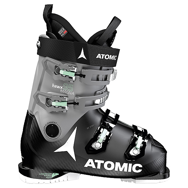 Atomic Hawx Magna 95 Womens Ski Boots 2022, Black-Anthracite-Mint, 600